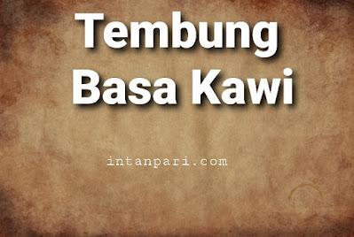 Contoh Tembung Kawi