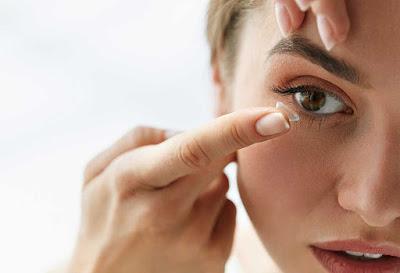 Do you apply contact lenses
