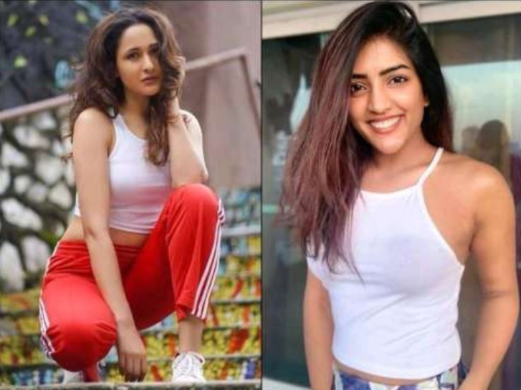 Pragya Jaiswal and Isha Rebba both appear to be seeing their killer figure in white top