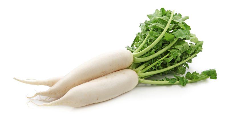 11 Benefícios do Rabanete Branco (Daikon) à Saúde