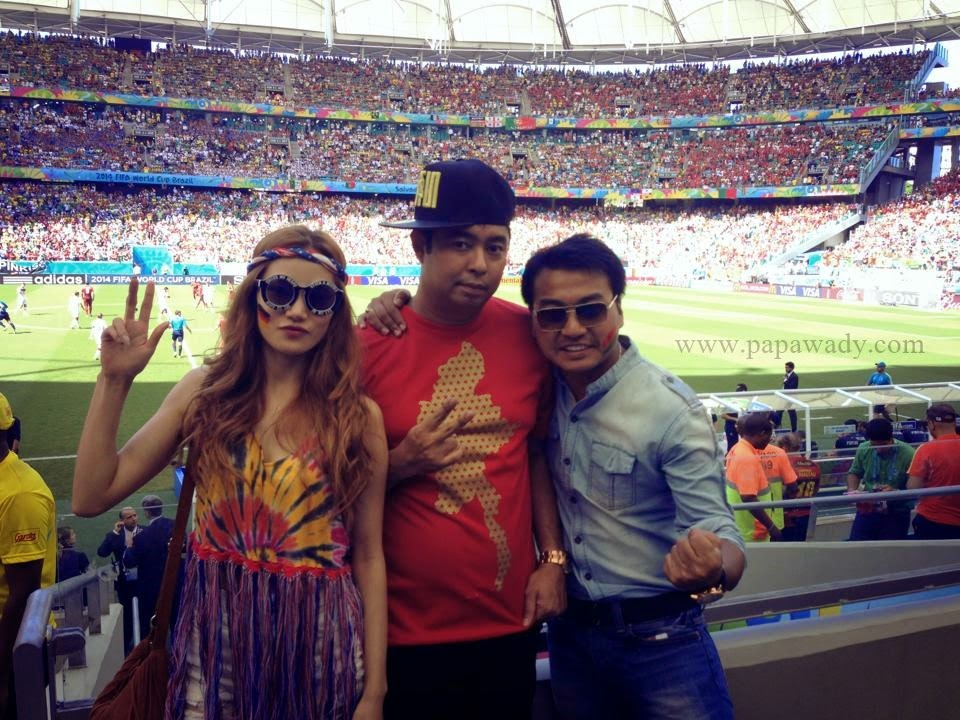 Myanmar Celebrities in Brasil World Cup 2014