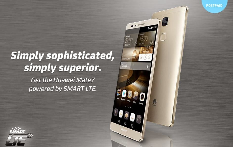 Huawei Ascend Mate 7 Now Available On Smart Postpaid