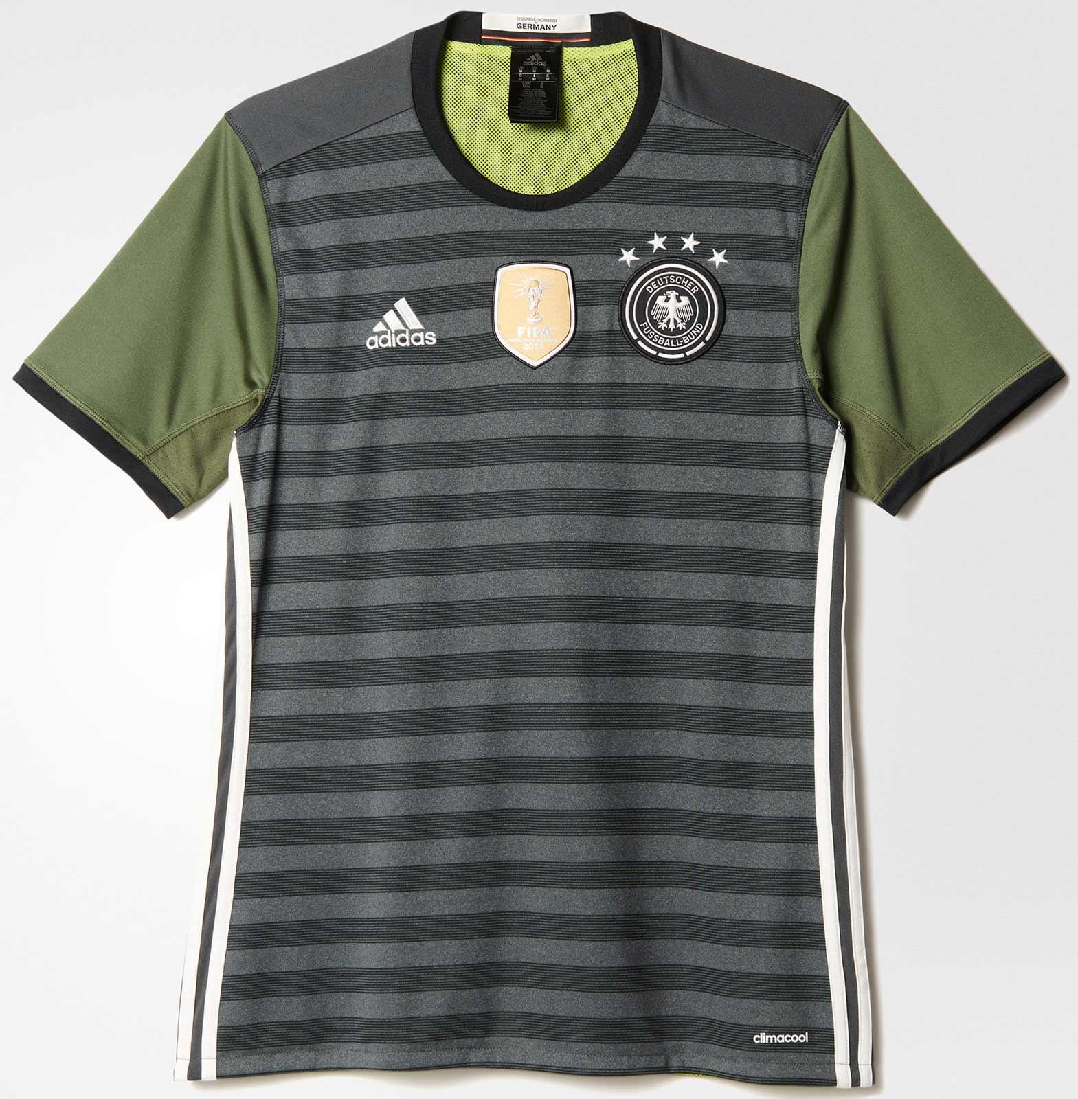 Adidas apresenta nova camisa reserva da Alemanha - Show de Camisas 3e21a2c8a0f1c