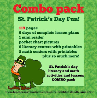 St. Patrick's day lesson plans and activities for grade 1