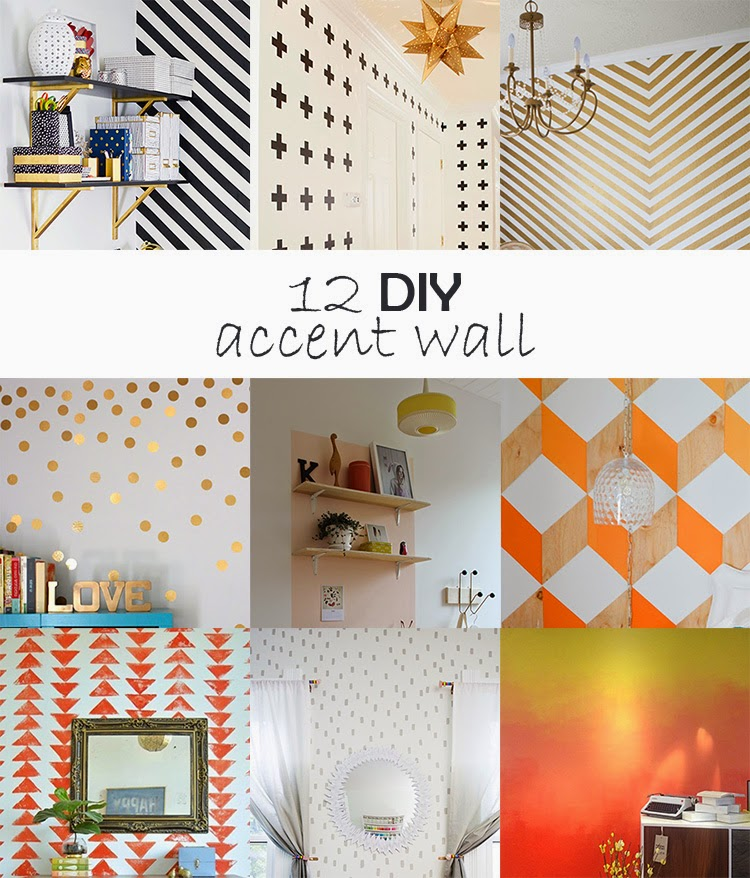 Diy Monday Accent Wall Ohoh Deco