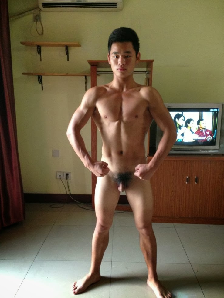 Asian Male Muscle Nude