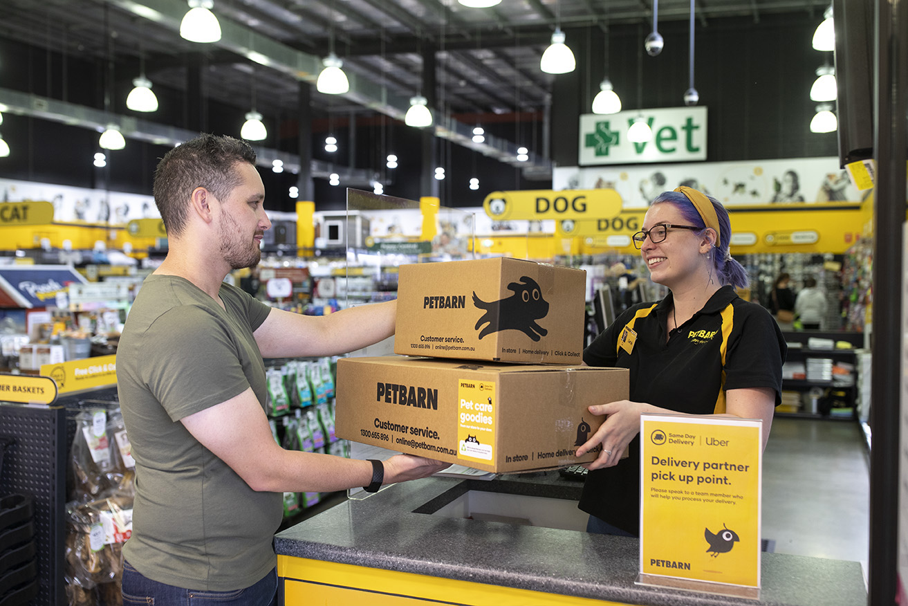 Petbarn And Uber Launch Store To Door Same Day Delivery Service Australian Dog Lover