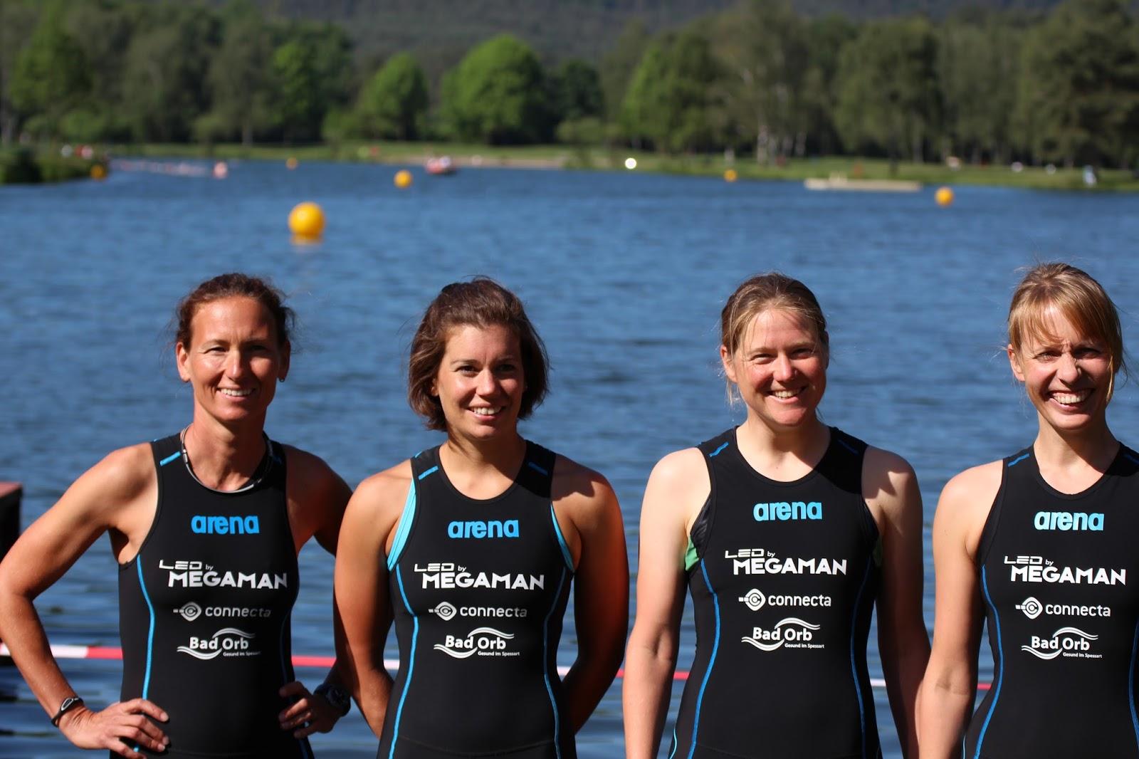 Team Kulmbach: Nici, Katha, Dana U0026 Anne