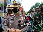 Kasat PJR Polda Sumut Dan Kasat Lantas Polres Labuhanbatu  Cek Pos Pam Penyekatan 1 Jalinsum Sumut - Riau