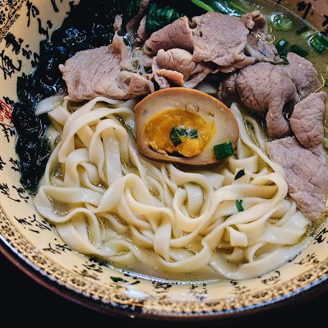 Braised Fresh Beef Noodle