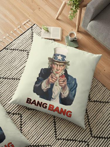 Uncle Sam - Bang Bang pillows