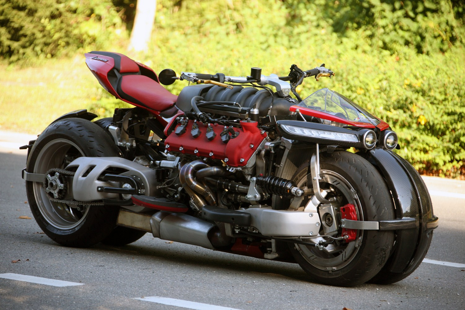 Motorcycles Don't Come Crazier Than The Maserati V8