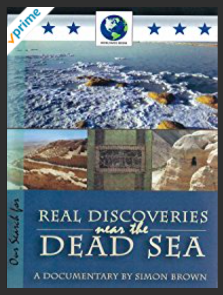 Real Discoveries Near the Dead Sea by Simon Brown.