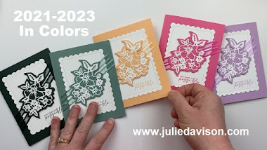 2021-2023 In Colors ~ 2021-2022 Stampin' Up! Annual Catalog #stampinup