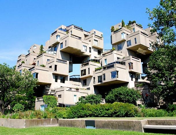 Tổ hợp khu nhà ở Habitat 67, Montreal, Canada