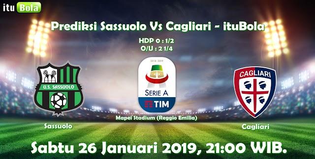 Prediksi Sassuolo Vs Cagliari - ituBola