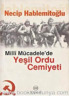 Necip Hablemitoğlu - Milli Mücadele'de Yeşil Ordu Cemiyeti