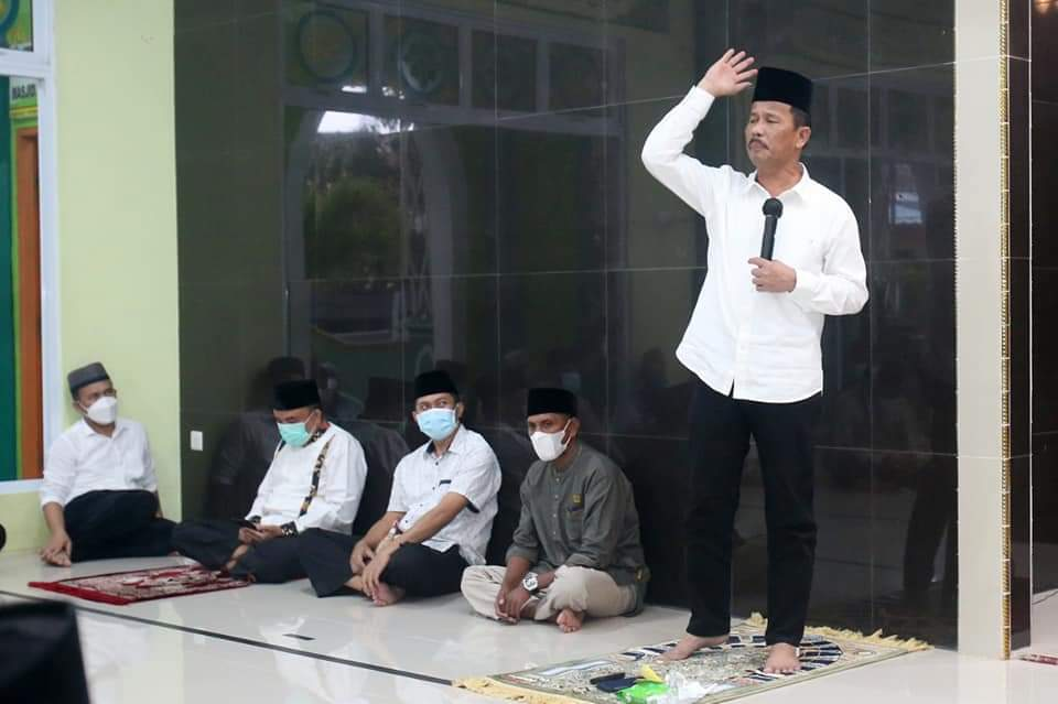 Safari Ramadhan di Tanjungriau, Rudi Kembali Ingatkan Agar Selalu Terapkan Prokes