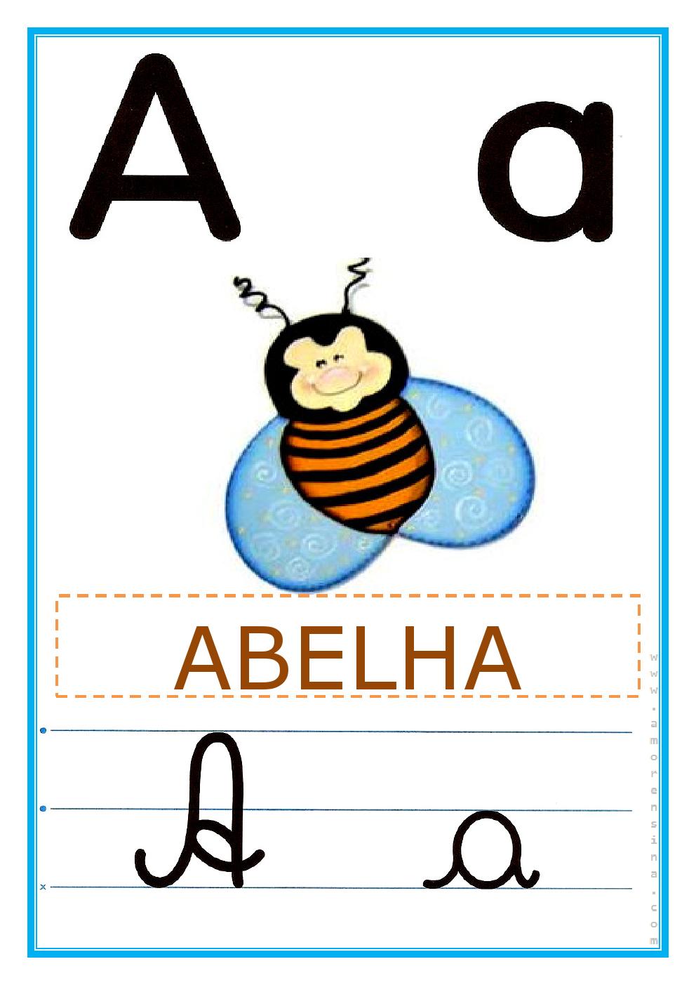 Sugestao De Atividade Escolar Alfabeto De Parede