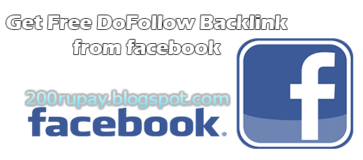 Get Free DoFollow Backlink PR9 From Facebook