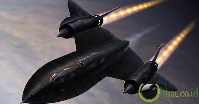 SR-71 Blackbird – Mach 3.2+