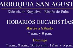 Comunicado Febrero 2021 Nueva lista de Eucaristía presenciales