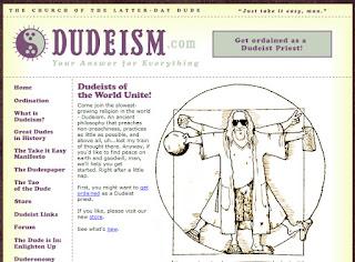 Web Religión Dudeísmo