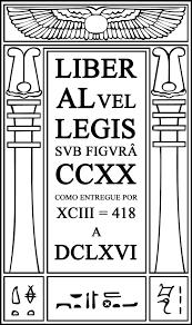 liber al vel legis, o livro da lei, book of law, thelema, alesteir crowley