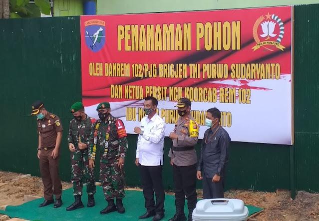 Danrem 102/Pjg Brigjen TNI Purwo Sudaryanto Kunjungi Barito Utara