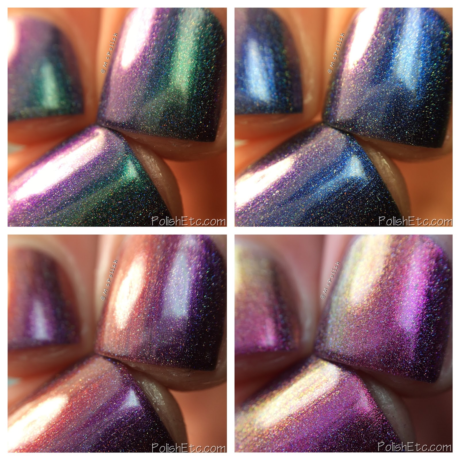 Top Shelf Lacquer - Cocktail Fun Holo'd Collection - McPolish