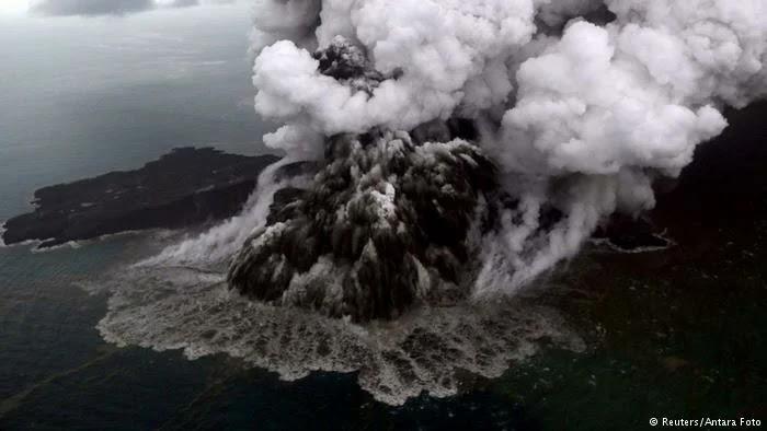 Sejarah gunung anak krakatau
