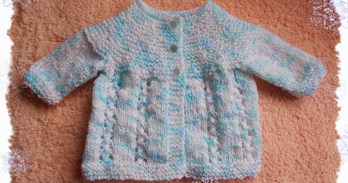 Knitting Yfwd Sl1 : Marianna s lazy daisy days bella baby jacket