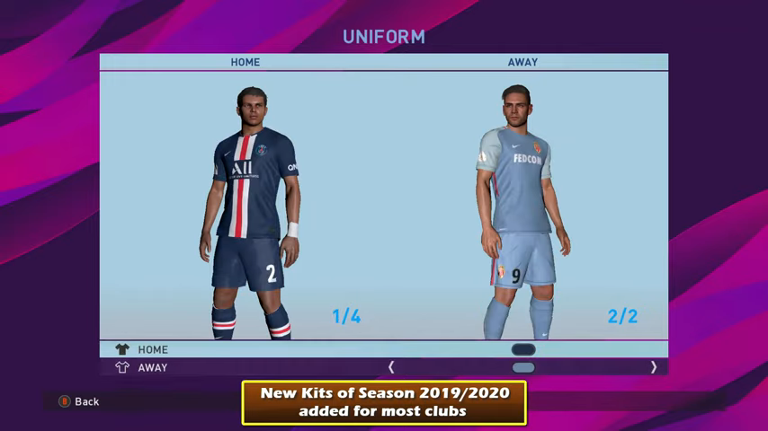 PES 2017 PTE Patch 2017 Unofficial Update 8 0 Season 2019
