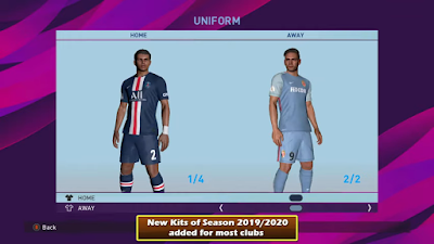 PES 2017 PTE Patch 2017 Unofficial Update 8.0 Season 2019/2020