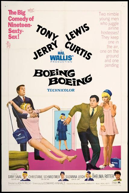 Sessão da Tarde: BOEING BOEING (1965)