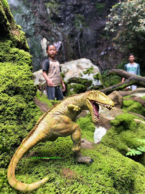 Ada Dinosaurus di Curug Badak Batu Hanoman Tasikmalaya || JelajahSuwanto