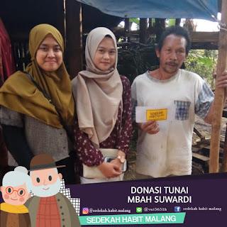 Mbah Suwardi : Donasi Tunai