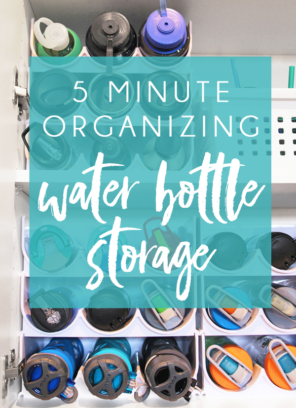 Wine Rack water bottle storage