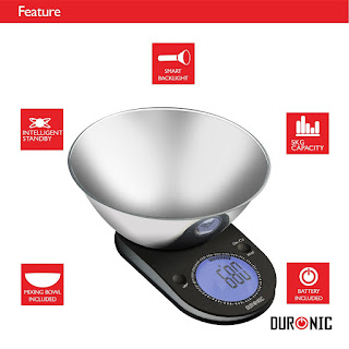 DEALS : Kitchen Scales, Duronic KS5000 Large Digital Display 5KG, £16.99,