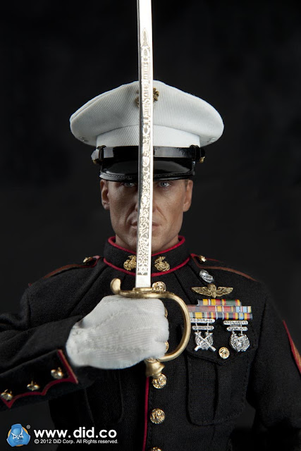 Toyhaven Preview Did 1 6 United States Marine Corps Dress Blues Ceremonial Guard 12 Inch Figure