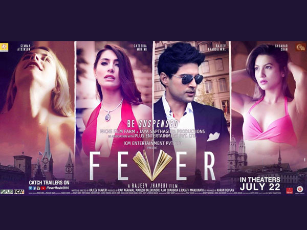 Complete cast and crew of Fever  (2016) bollywood hindi movie wiki, poster, Trailer, music list - Rajeev Khandelwal and Gauahar Khan, Movie release date 22 July 2016