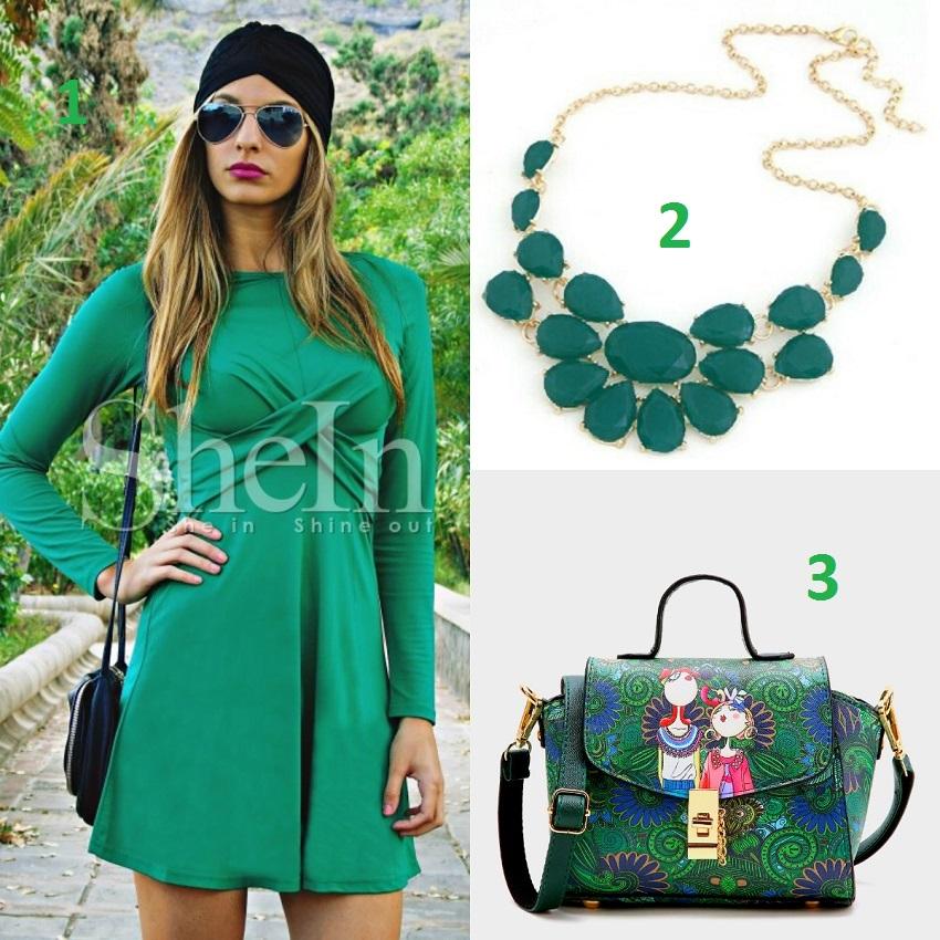 alışveriş, green clothes