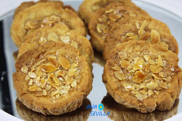 Tortas de recao o de conde Ana Sevilla cocina tradicional