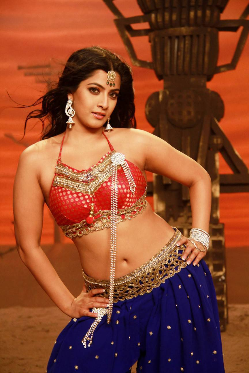 Varalaxmi Sarathkumar Navel Hip Show Photos From Tamil Movie In Blue Saree