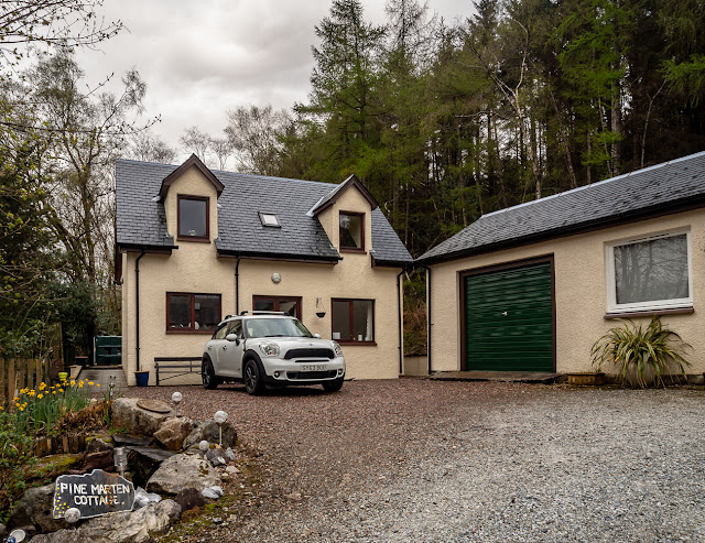 Photo of the cottage at Ballachulish in Lochaber, Scotland