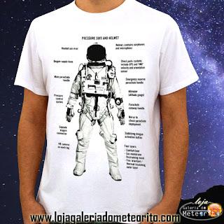 camiseta de astronomia