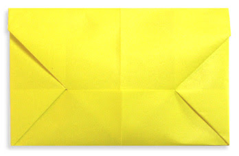 How to make an easy origami letter
