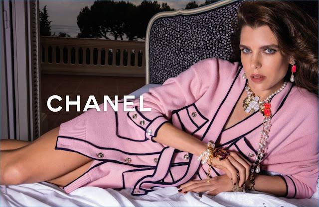 CHARLOTTE CASIRAGHI for Chanel Spring/Summer 2021