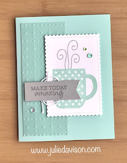 8 Stampin' Up! Rise & Shine Sale-a-Bration Projects + Video #stampinup #saleabration ~ www.juliedavison.com