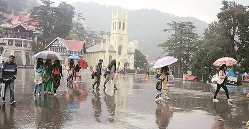 हिमाचल: 10 जिलों के लिए जारी किया गया येलो अलर्ट; बारिश-बर्फबारी की चेतावनी